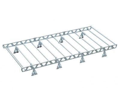 Roof rack OMEGA VANS for vans, trucks and off-road vehicles