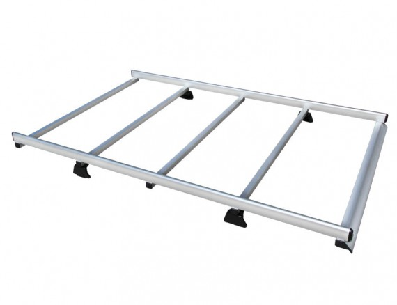 Aluminium roof rack KAPPA VANS for commercial vehicles and off road cars