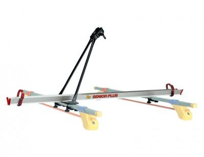 Pre-assembled bike carrier kit SENIOR PLUS for mounting on universal bars