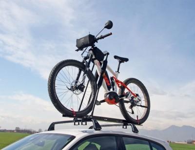 Pre-assembled bike carrier SENIOR 7009 for universal bars
