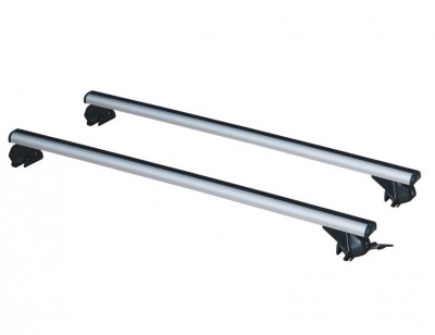 Roof rack with sturdy aluminium alloy supporting structure LP58