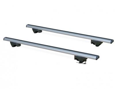 Multi-purpose roof rack for vehicles with rail AERO BRIDGE