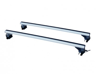 Multi-purpose roof rack in aluminum for vehicles with rail LP59