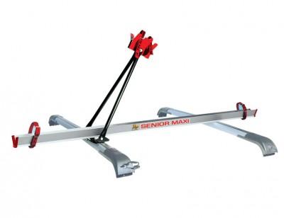 Pre-assembled bike carrier kit SENIOR MAXI for mounting on universal bars