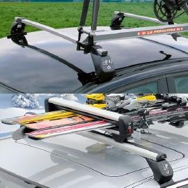 Bicycle racks and ski racks