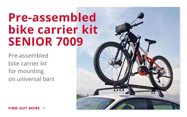 Pre-assembled bike carrier kit SENIOR 7009 for universal…